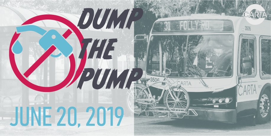 CARTA Encourages Lowcountry Residents To Dump the Pump On June 20